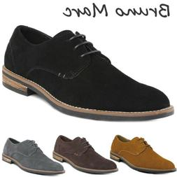 men s urban suede leather lace up
