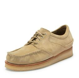 Clarks Men's Wallace US 13 M Maple Suede Moc Toe Crepe Sole