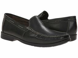 Men's Bostonian® Warren Twin 06802 Slip-On Black Lea Oxford