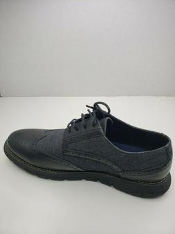 Nautica Men's Wingdeck Oxford Shoe Fashion Sneaker, Denim/Bl