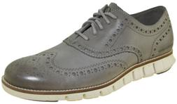 Cole Haan Men's ZERØGRAND Wingtip Oxford Grey Style C25007