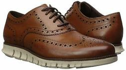 Cole Haan Men's Zerogrand Wingtip Leather Lace-Up Oxfords Br
