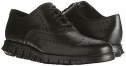 Cole Haan Men's Zerogrand Wingtip Leather Lace-Up Oxfords Bl