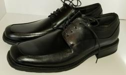FLORSHEIM Mens 12 Shoes Black Leather Square Toe Oxford Lace