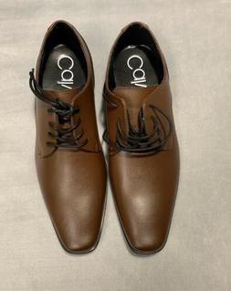 Calvin Klein Mens Brodie Oxford Shoe Brown Size 10
