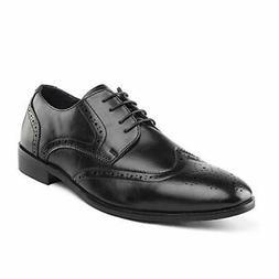 Mens Business Dress Lace-up Cap toe Oxford Shoes Monk Strap