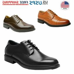 mens classic dress shoes faux leather formal
