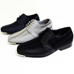 Mens Dress Casual Shoes Tuxedo Oxford Fashion Lace-Up Formal