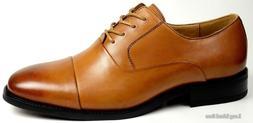 LA MILANO Mens Dress Shoes Cow Leather, Oxfords, Modern Roun