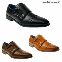 Bruno Marc Mens Dress Shoes Formal Slip on Comfort Oxford Sh