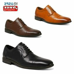 mens dress shoes lace up genuine leather