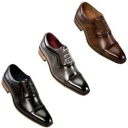 Mens Dress Shoes - Oxford Shoes for Men - Lace Up Formal Sho