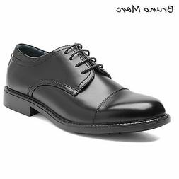 Bruno Marc Mens Formal Dress Shoes Leather Lined Plain Toe L