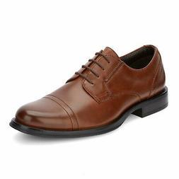 Dockers Mens Garfield Dress Cap Toe Oxford Shoe Tan 10.5 W