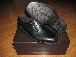 MENS BOSTONIAN IPSWICH APRON OXFORD BLACK LEATHER DRESS SHOE