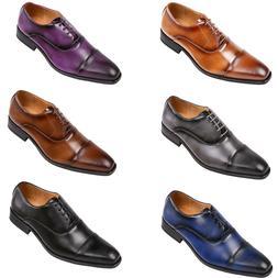 Mens Lace Up Dress Shoes, Oxford Shoes for Men, Formal Shoes