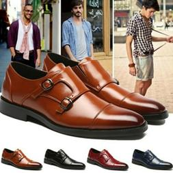 Mens Leather Shoes Formal Dress Business Party Prom Pointed