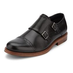 Dockers Mens Maycrest Genuine Leather Dress Monk Strap Lace-
