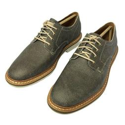 Timberland Mens Naples Trail Oxford Shoes Olive Brown Lace U