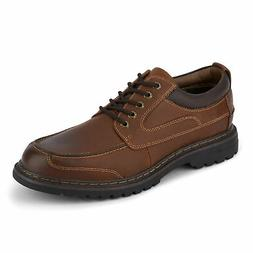 Dockers Mens Overton Leather Oxford Shoe with NeverWet - Wid