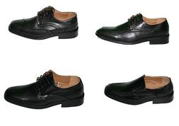 Mens Oxford Dress Shoes Lace Up Leather Lined Baseball Stitc