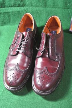mens oxford leather shoes burgundy fenwick size