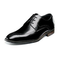 Stacy Adams Mens Shoes Ballard Plain Toe Oxford Lace Up Blac