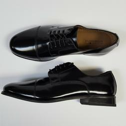 Florsheim Mens Shoes Broxton Cap Toe Lace Up Oxford Black