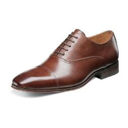 Florsheim Mens Shoes Corbetta Cap Toe Oxford Cognac Leather