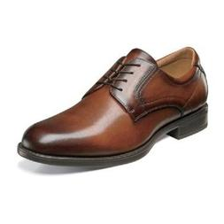 Florsheim Mens shoes Midtown Plain Toe Oxford Cognac Leather