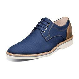 Florsheim Mens Shoes Union Plain Oxford Blue Grain Leather C