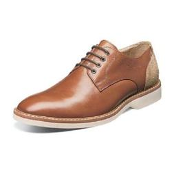 Florsheim Mens Shoes Union Plain Oxford Cognac Grain leather