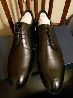 Mens Size 12 M Cole Haan Henry Grand Split Oxford Black Leat