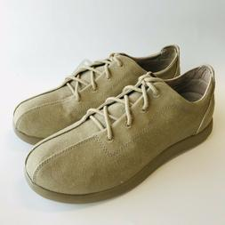 mens venture casual canvas oxford khaki lace