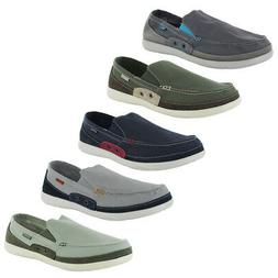 mens walu accent slip on loafer shoes
