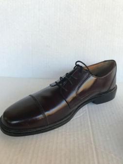 Bostonian Mens Wenham Leather Cap Toe Oxfords Dress Shoes Bu