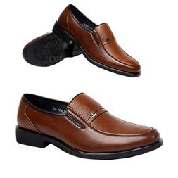 Mens Work Business Dress Formal Leather Shoes Classic Flat O