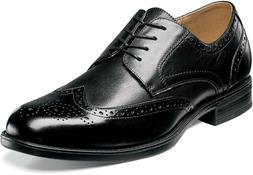 Florsheim MIDTOWN WINGTIP 12139-001 Black Leather Oxford Lac