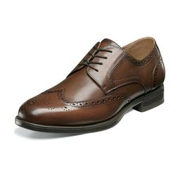 Florsheim MIDTOWN WINGTIP 12139-221 Cognac Leather Lace Up O