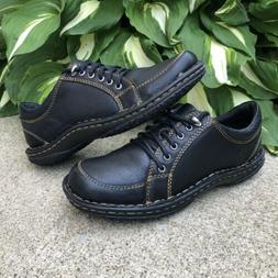 new born black leather oxford shoes women