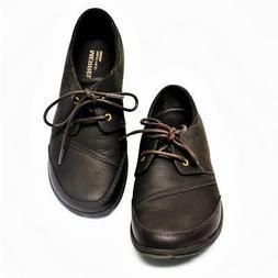 NEW Merrell Dassie Tie Women 9.5 Oxford Shoes Leather Metal