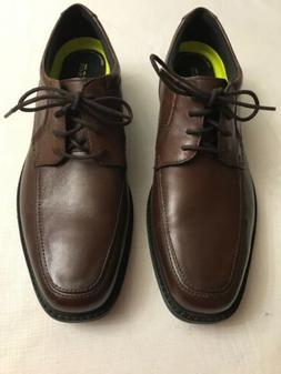 NEW!!! BOSTONIAN  Flexlite Men's Brown Leather Oxfords Sz 10