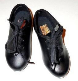 New Main Street Little Boy Tap Shoes Black  Lace Up Oxfords