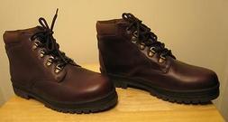 NEW FLORSHEIM Men Leather Boots Shoes 9M Oxford NIB