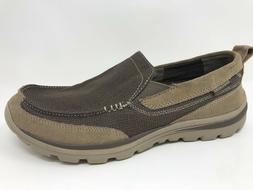 New! Men's Skechers 64365 Superior-Milford Canvas Casual Loa