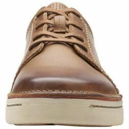 NEW Clarks Men's Kitna Stride Lace-Up Oxford Shoes - Tan Lea