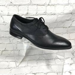 Calvin Klein   New Men's Oxford Black Leather shoes Sz 8