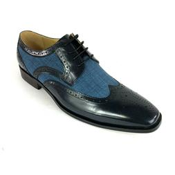 New Stacy Adams Mens Shoes Size 12M Kemper Blue Multi Lace U