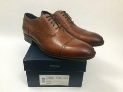 New Cole Haan Wayne Cap Toe Oxford Leather Dress Shoes Mens