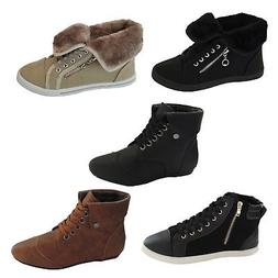 NEW Womens Sneakers Shoe Casual Flat classics oxfords ankle